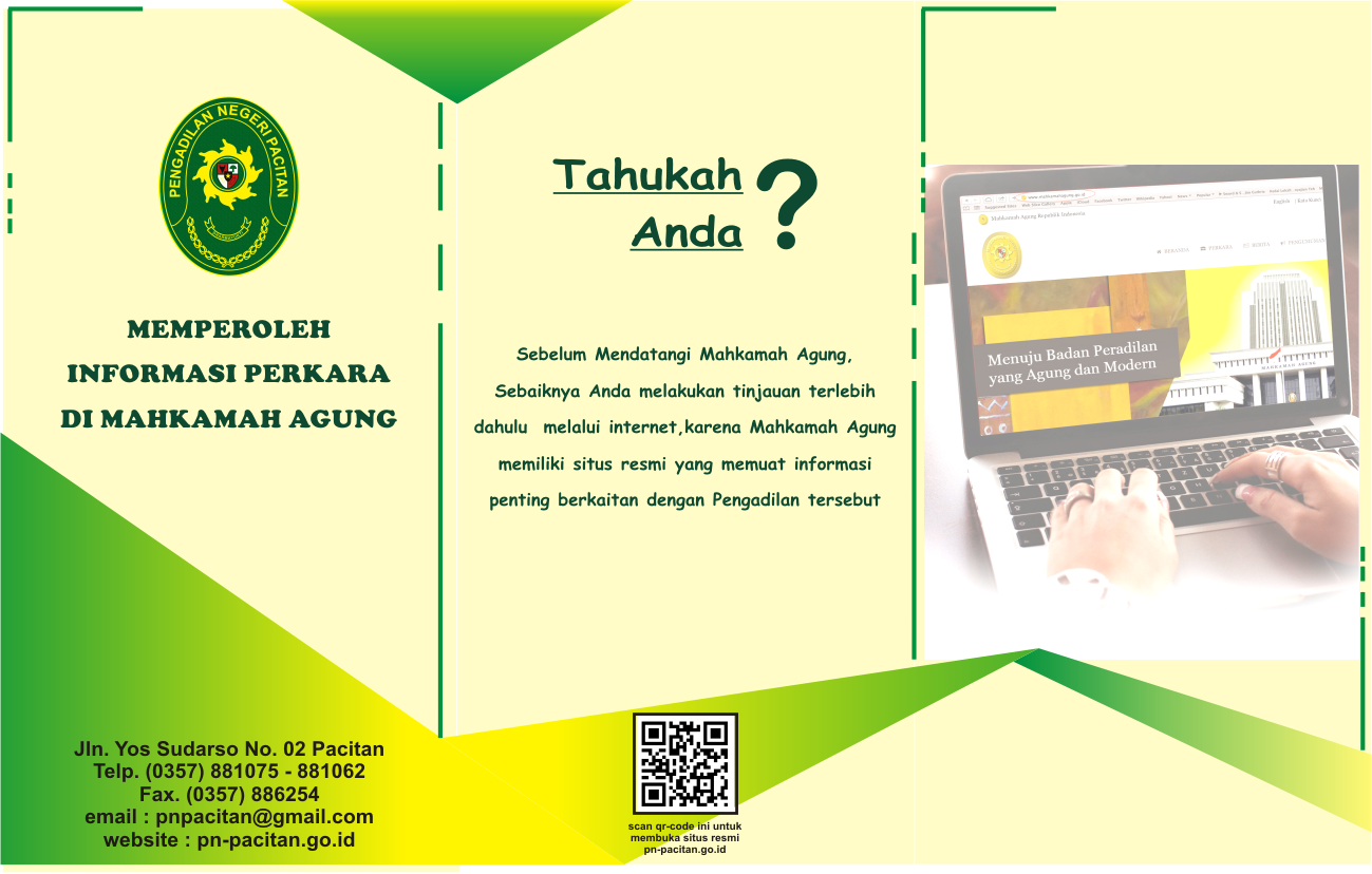 icon brosur informasi perkara MA