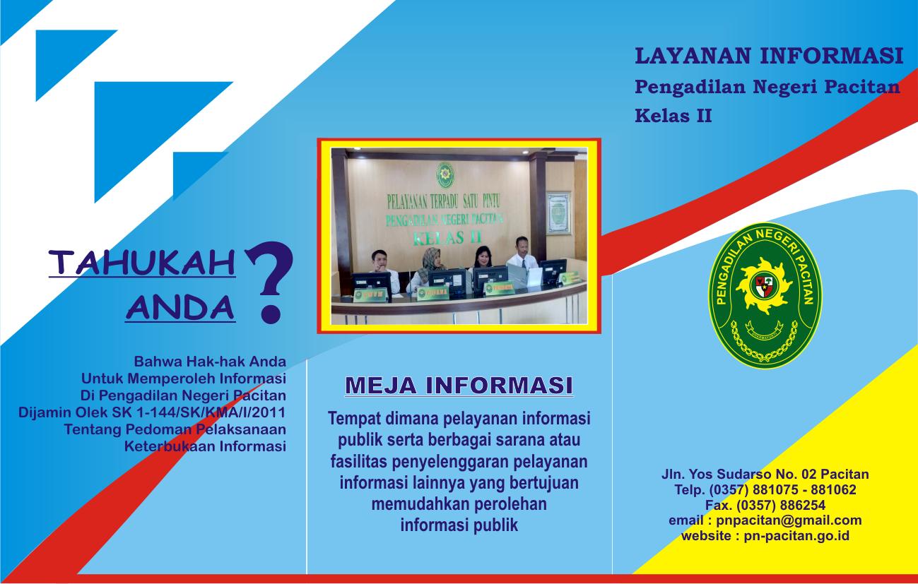 icon brosur layanan informasi